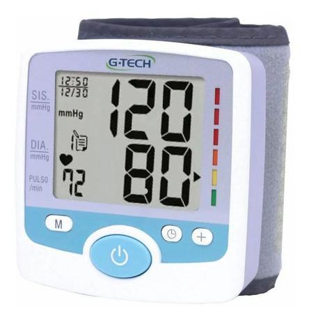 Imagem de Aparelho Para Medir Pressão Arterial De Pulso Gtech Completo