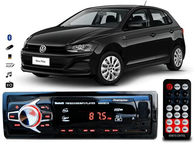 Imagem de Aparelho Som Mp3 Volkswagen Polo Bluetooth Pendrive Rádio