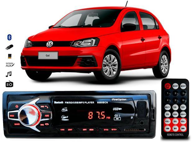 Imagem de Aparelho Som Mp3 Vw Gol G3 G4 G5 Bluetooth Pendrive Rádio