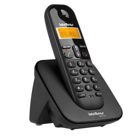 Imagem de Aparelho Telefone Fixo Sem Fio Bina Com Bateria de Alta Duração