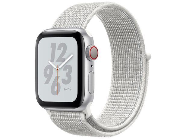 6a2ceab6989 Apple Watch Nike+ Series 4 40mm Cellular - GPS Integrado Wi-Fi Bluetooth  Pulseira Esportiva