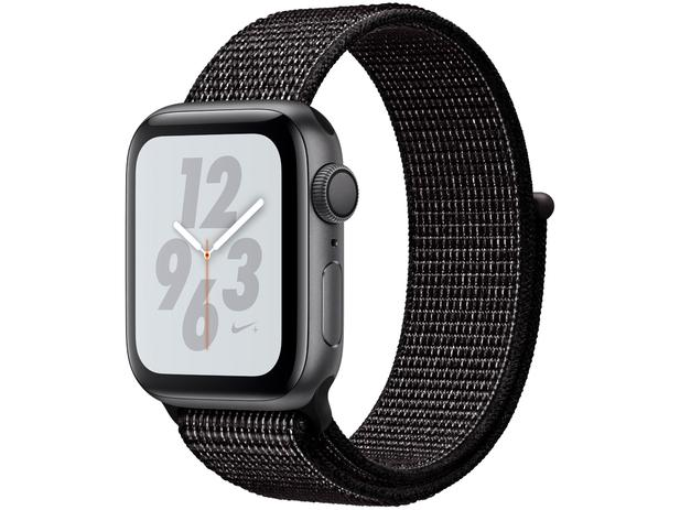 851ac4bd25c Apple Watch Nike+ Series 4 40mm GPS Integrado - Wi-Fi Bluetooth Pulseira  Esportiva 16GB