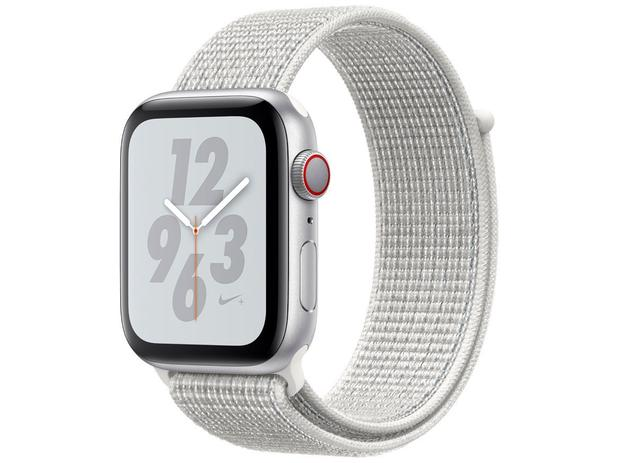 b1181509696 Apple Watch Nike+ Series 4 44mm Cellular - GPS Integrado Wi-Fi Bluetooth  Pulseira Esportiva