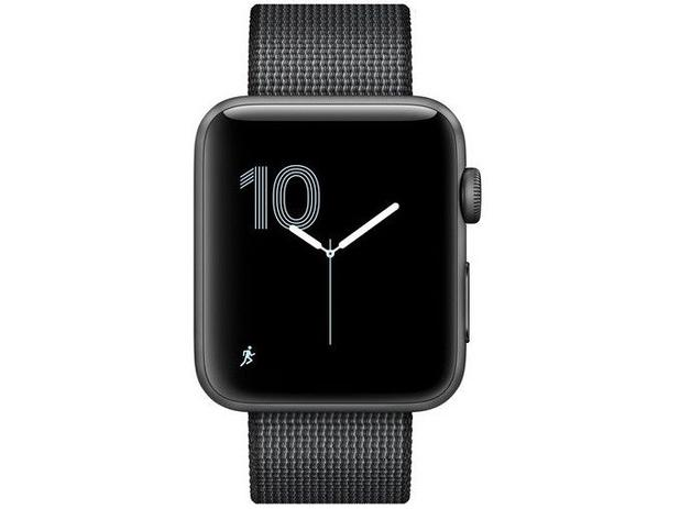 6f10b53cc45 Apple Watch Series 2 42mm Alumínio 8GB Esportiva - GPS Integrado Resistente  a Água