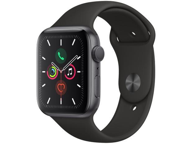 Imagem de Apple Watch Series 5 44mm GPS Integrado Wi-Fi