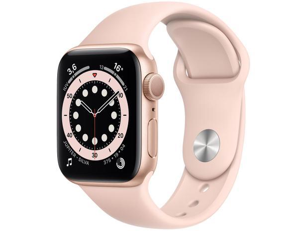 Imagem de Apple Watch Series 6 40mm Dourada GPS