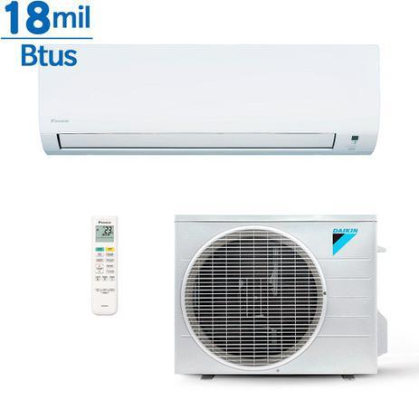 Imagem de Ar condicionado Inverter Daikin Advance 18000 Btus Quente e Frio 220v
