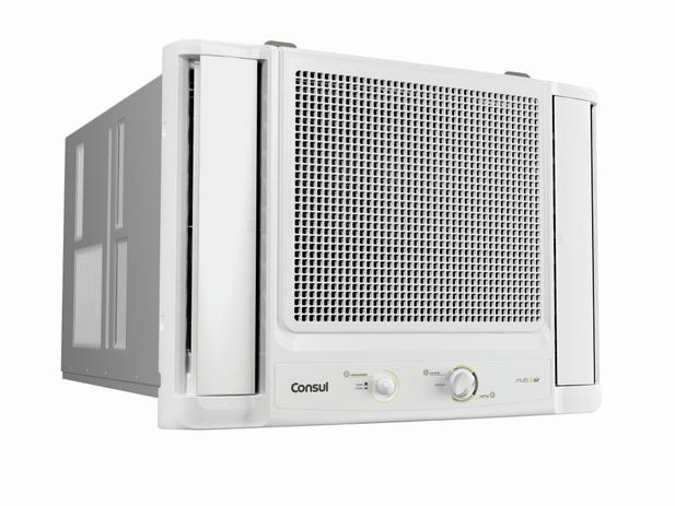 Imagem de Ar condicionado janela 7500 BTUs/h Consul frio com filtro antipoeira