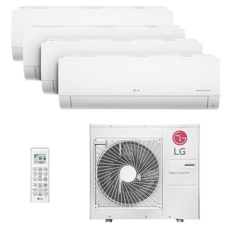 Imagem de Ar Condicionado Multi Quadri Split Hw Inverter Lg 3x9000 1x18000 Btus Quente/frio 220V Monofasico A4UW30GFA2.AWGZBRZ