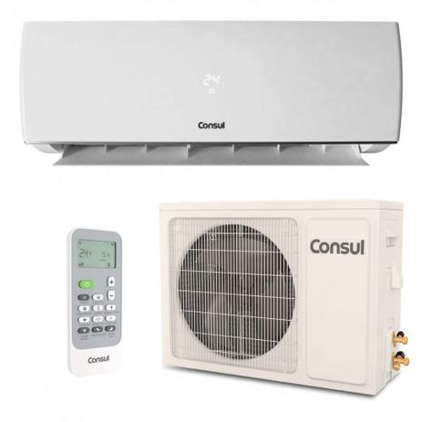 Imagem de Ar Condicionado Split Consul Hi Wall 9000 BTUS Quente Frio CBP09CB  220V