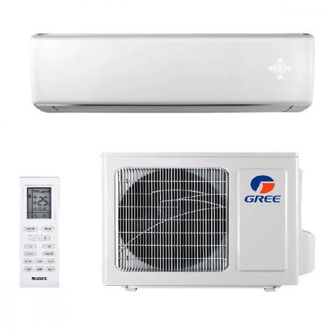 Imagem de Ar Condicionado Split Gree Hi Wall Eco Garden 12000 BTUs Quente Frio GWH12QCD3NNB4AI  220V