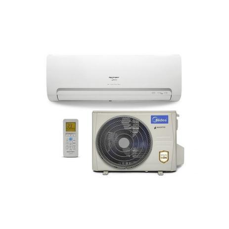 Imagem de Ar Condicionado Split Hi Wall Inverter WiFi Springer Midea 12000 BTUs Quente Frio 42MBQA12M5  220V