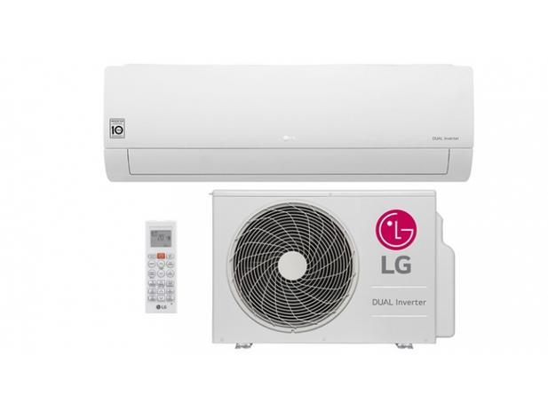 Imagem de Ar Condicionado Split Hi Wall LG DUAL Inverter 18000 BTUs Frio 220V  S4Q18KL3WB