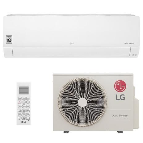 Imagem de Ar Condicionado Split Hi Wall LG DUAL Inverter Voice 24000 BTUs Frio  S4Q24K231D  220V