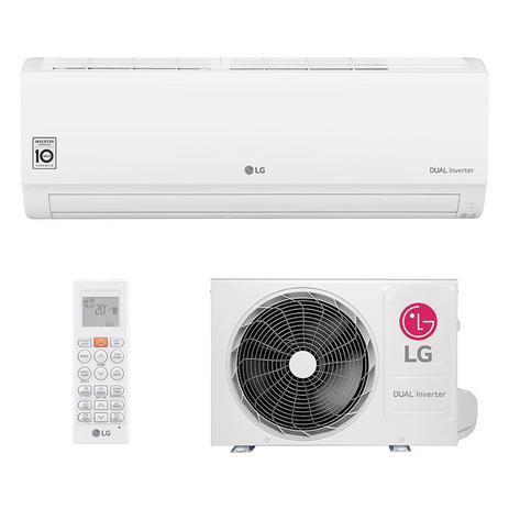 Imagem de Ar Condicionado Split Hw Dual Inverter Voice Lg 9000 Btus Quente/frio 220V Monofasico S4NW09WA51A.EB2GAMZ