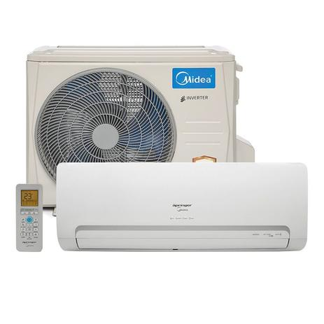 dfdeaac06 Ar Condicionado Split Hw Inverter Springer Midea 12000 Btus Quente Frio  220v 1F 42MBQA12M5
