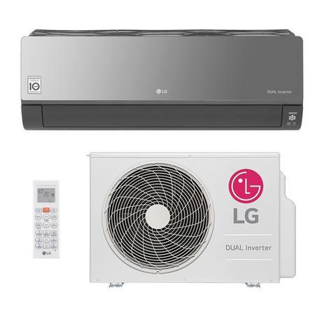 Imagem de Ar Condicionado Split HW LG Dual Inverter Voice Artcool 18000 Btus Quente/Frio 220V