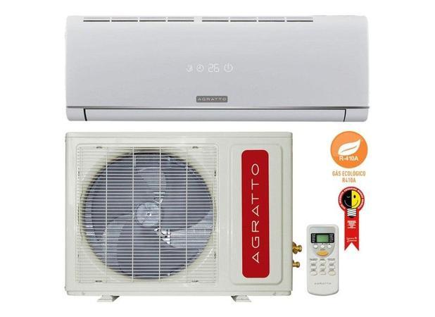 933ac2bdf Ar Condicionado Split Hw On off Agratto Eco 9000 Btus Quente frio 220V  Monofasico