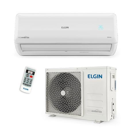 Imagem de Ar Condicionado Split Inverter 12000 Btus Quente e Frio 220v Elgin