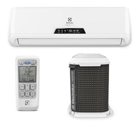 b94983fb1 Ar Condicionado Split Inverter Electrolux Techno Só Frio High Wall 12.000  BTUs QI12F 220v