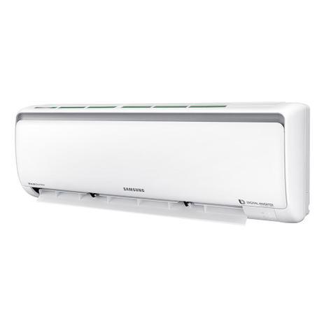 1001503d7 Ar Condicionado Split Inverter Samsung Digital 8-Polos Quente e Frio High  Wall 9.000 Btus 220v