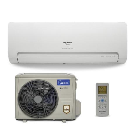 be30797a4 Ar Condicionado Split Inverter Springer Midea 12.000 BTU h Frio 220V 1F  42MBCA12M5 38MBCA12M5