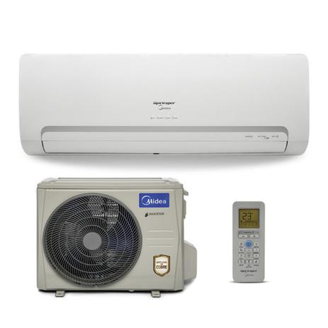 c1782d530 Ar Condicionado Split Inverter Springer Midea 12.000 BTU h Quente e Frio  220v 42MBQA12M5 38MBQA12M5