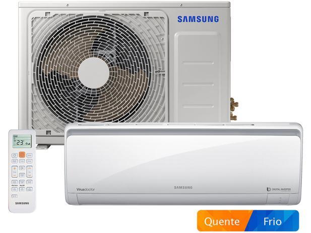 Ar-condicionado Split Samsung Digital Inverter - 18.000 BTUs Quente/Frio AR18MSSPBGM/AZ - 220V