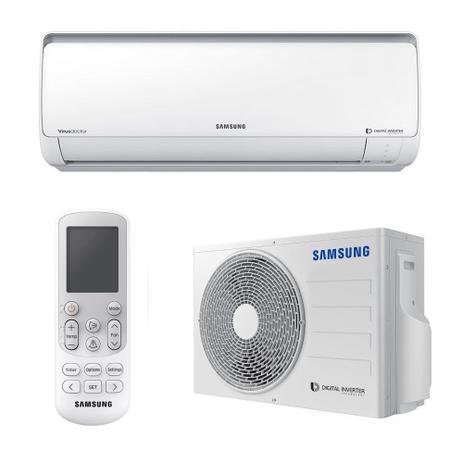 Ar Condicionado Split Samsung Digital Inverter 8 Polos 9000 BTUs Frio 220V AR09MVSPBGMXAZ - 220V