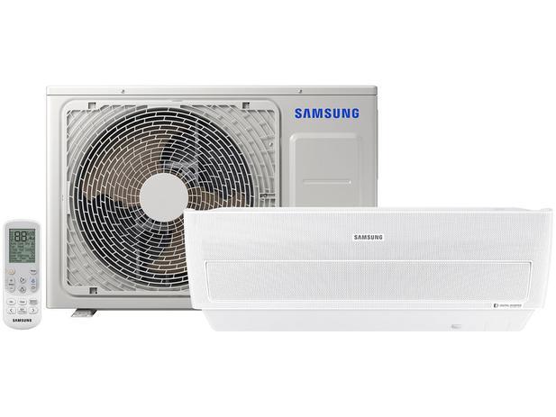Ar-condicionado Split Samsung Wind Free Digital - Inverter 9.000 BTUs Frio AR09MVPXAWK/AZ - 220V