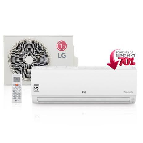 Imagem de Ar Condicionado Split Wall LG Dual Inverter 9000 btu/h Quente-Frio 220v