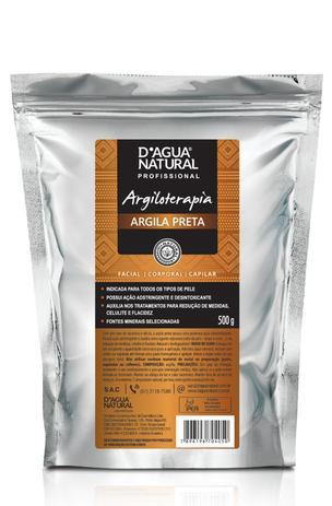 Imagem de Argila preta 500g - d agua natural