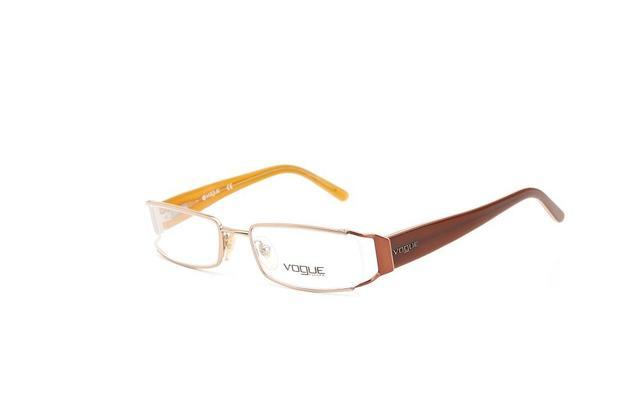 Armação De Grau Vogue Haste Acetato Laranja - Óculos de grau ... eb957d3481