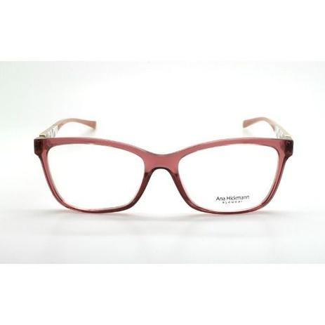 Armação De Óculos Ana Hickmann Ah6260 T05 54-17 145 - Óptica ... 7478e7ebc5