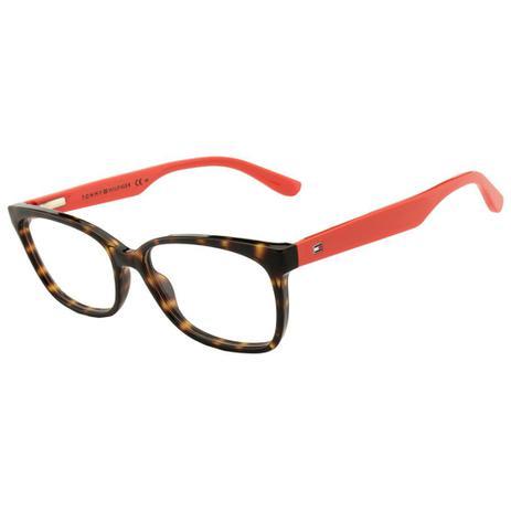 44e5526e2 Armação De Óculos Tommy Hilfiger Th 1492 9n4 5316 - Óptica ...
