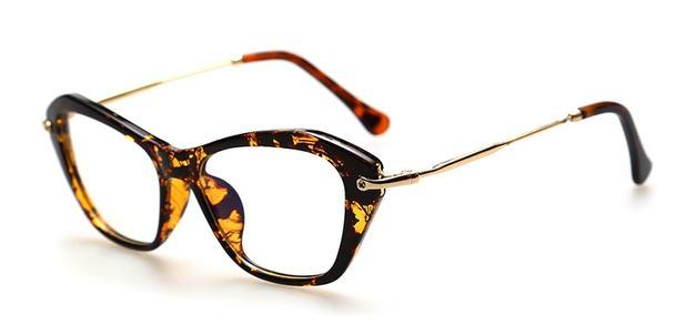 146c1a87e Armação Gatinho Vintage Retrô de Luxo para Óculos de Grau - Várias Cores -  Vinkin