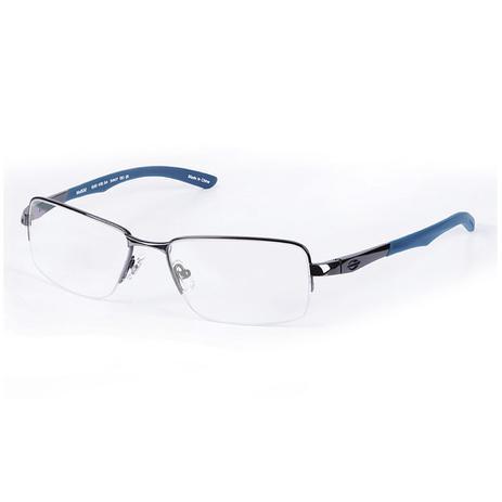 5c454cdc7 Armação mormaii mo 1532 metal escuro brilho ponta azul multcolor ...