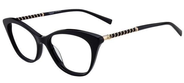 e19aa7741 Armação Óculos de Grau Ana Hickmann Feminino AH6238 A01 - Óptica ...