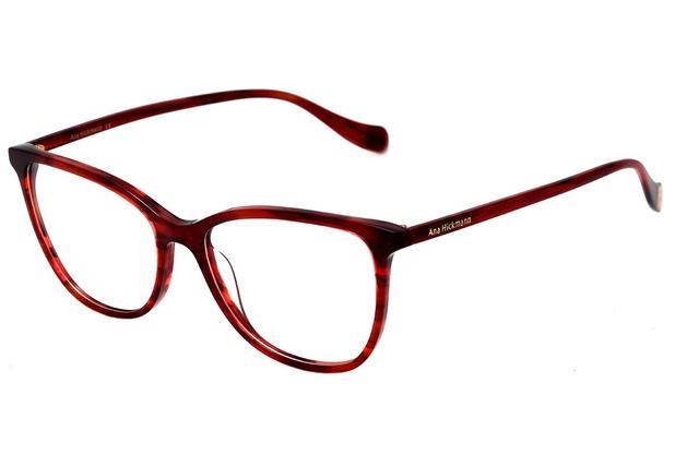 111137ae97ed5 Armação Óculos de Grau Ana Hickmann Feminino AH6340 E03 - Óculos de ...