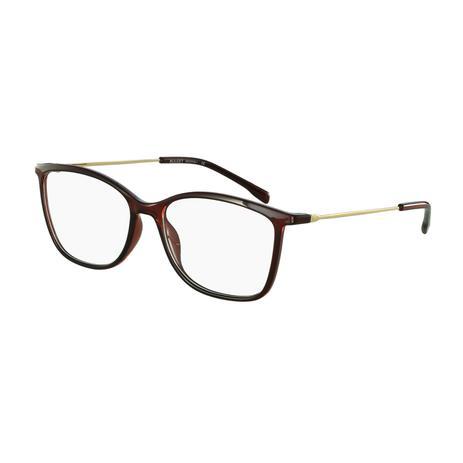 8529fe41b Armação Óculos de Grau Bulget Feminino BG4044 T01 - Óptica ...