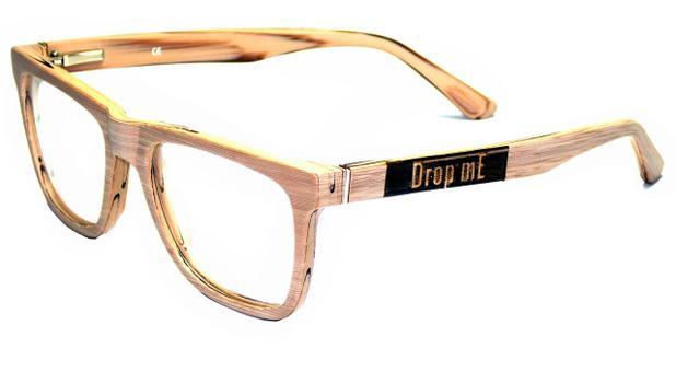 Armação Óculos de Grau Drop mE Acetato Wood Hastes Flex - Drop me acessorios 6772bde0ec