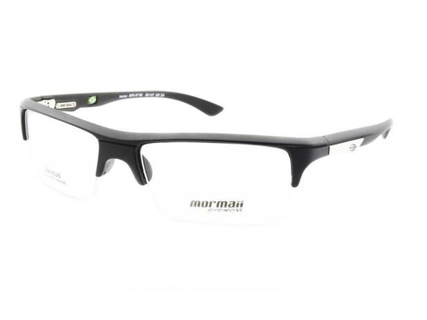 e6f3378a3 Armação Óculos de Grau Esportivo Mormaii Ventus Preto Fosco - Óculos ...