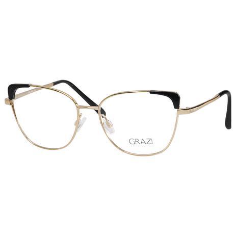 c789a8c111d4b Armação óculos de Grau Feminino Grazi Massafera GZ1013 F920 - Óptica ...