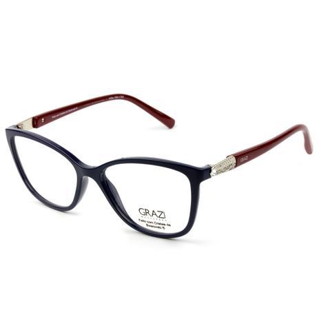Armação Óculos De Grau Feminino Grazi Massafera GZ3022B E104 ... af5d309983