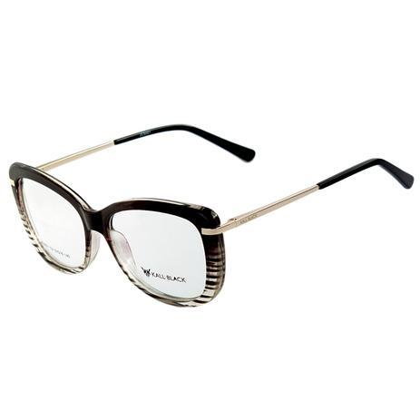 c67a98067 Armação Óculos De Grau Feminino Kallblack AF5001 - Óculos de Grau ...