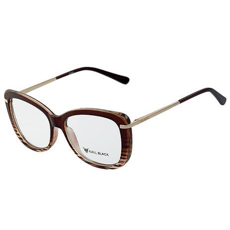 94115d7d0 Armação Óculos De Grau Feminino Kallblack AF5001 - Óptica - Magazine ...