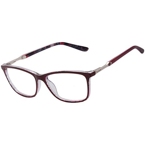 cc94bd2c8 Armação Óculos De Grau Feminino Kallblack AF6296 - Óculos de Grau ...
