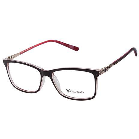 0d3296489ff67 Armação Óculos De Grau Feminino Kallblack AF6320 - Óptica - Magazine ...