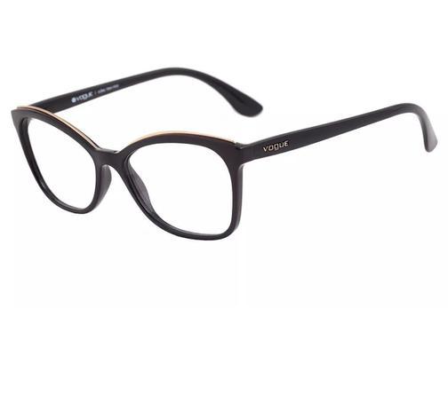 fb9f9a5ab Armação Óculos de Grau Feminino Vogue VO5160L W44 Lente 5,4 cm ...