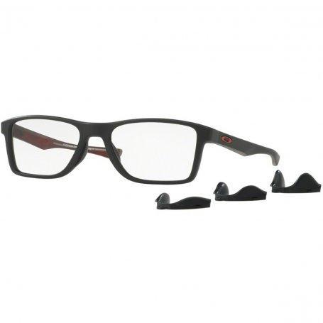 Armação Óculos de Grau Oakley Masculino Fin Box OX8108-02 - Óptica ... 9cbe6ae098